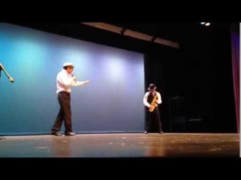 "Caleb Andrus Singing Hillarious ""Sax Man"" Song By Jack Black"