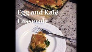 Egg And Kale Casserole
