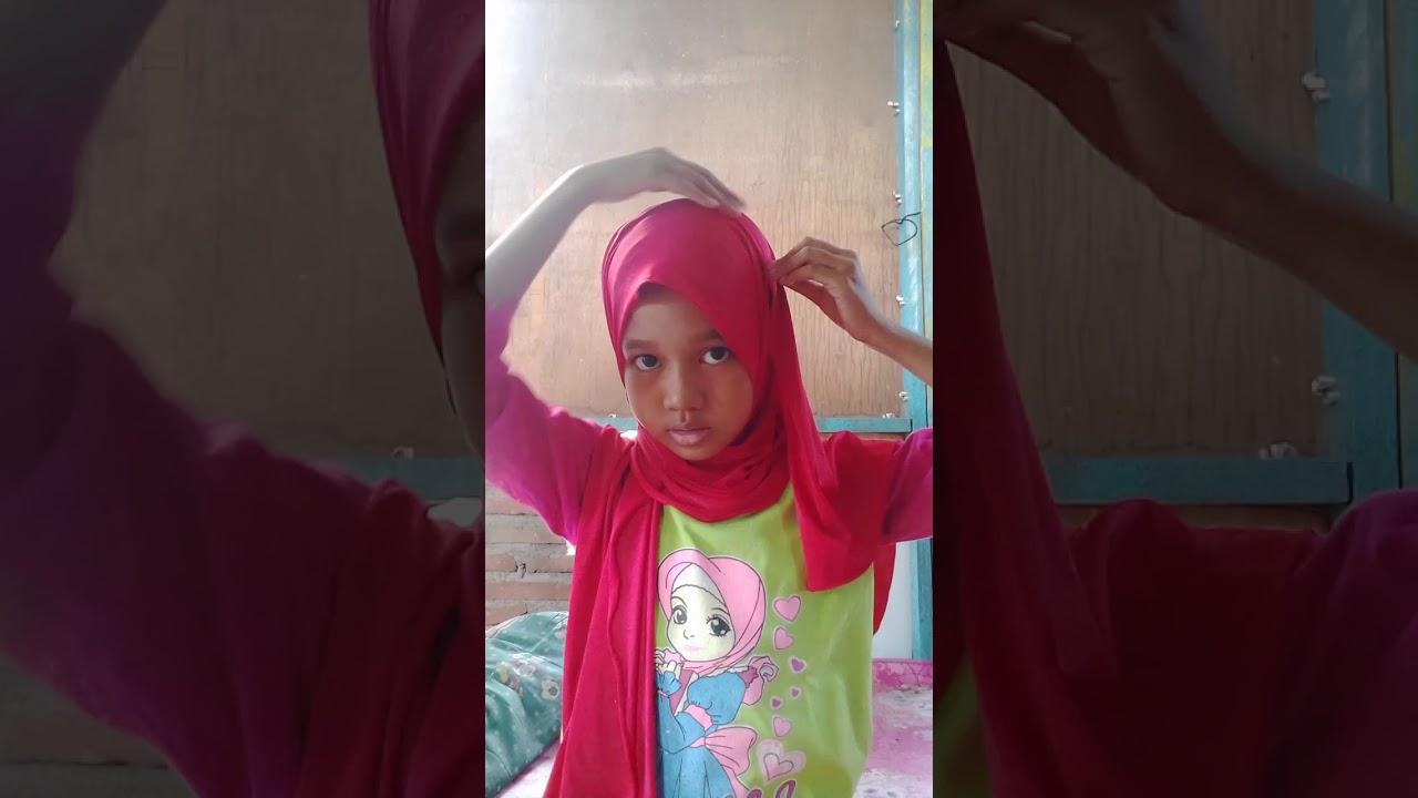 Tutorial Hijab Ala Fatimah Halilintar Simplemudah Youtube