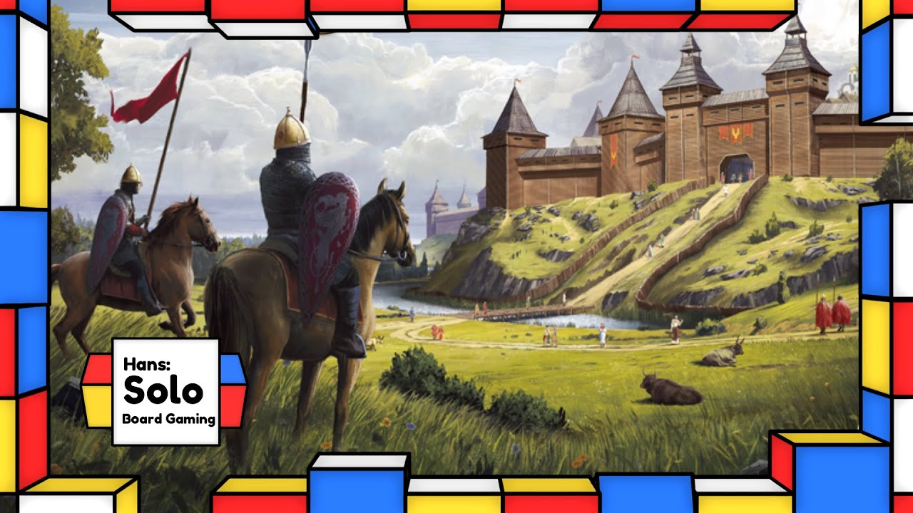 Hans: Solo Board Gaming Rurik Dawn of Kiev