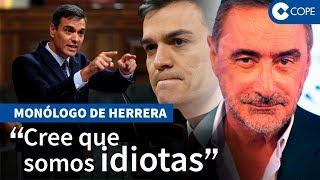 """Herrera, sobre el """"caradura"""" de Pedro Sánchez"""