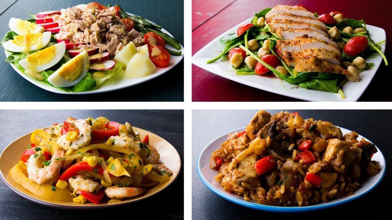5 Recetas de Almuerzos Saludables Para Bajar de Peso (Caseros ...
