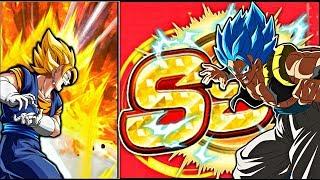 VEGITO = GOGETA!? | EXTREMELY LUCKY BLUE GOGETA SUMMONS! | Dokkan Battle JP!