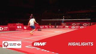 HSBC BWF World Tour Finals 2018 | MS - F - HIGHLIGHTS | BWF 2018