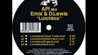 Api aka Emix & D. Lewis - Lunchbox  (tokyo trade mix)