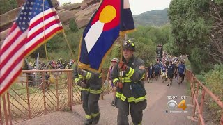 Firefighters Honor Fallen 9/11 Crews With Stair Climb