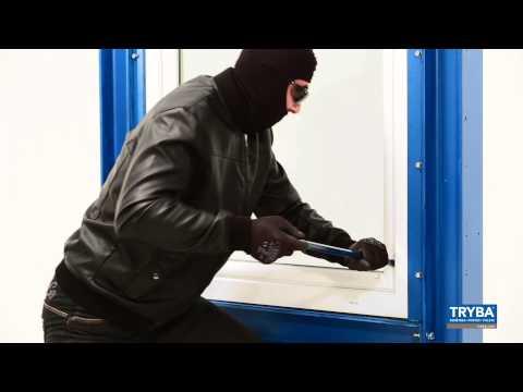 Fenêtre Sécurité : démonstration d'une tentative d'effraction