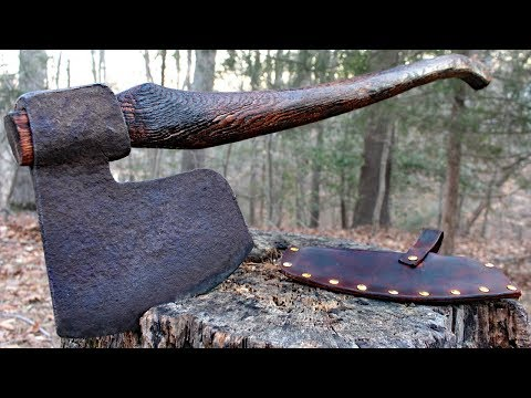 Bearded Axe Restoration - NO Power tools