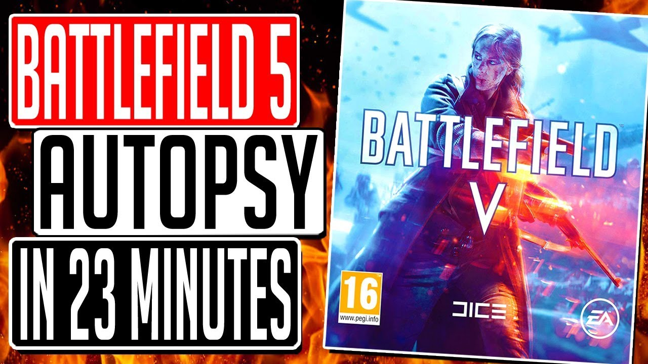 Why Battlefield 5 Really Failed In 23 Minutes - FULL AUTOPSY thumbnail