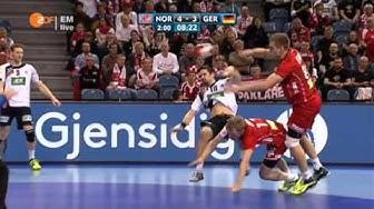 Handball EM 2016 Halbfinale: Norwegen - Deutschland komplett (ZDF 29.01.2016)