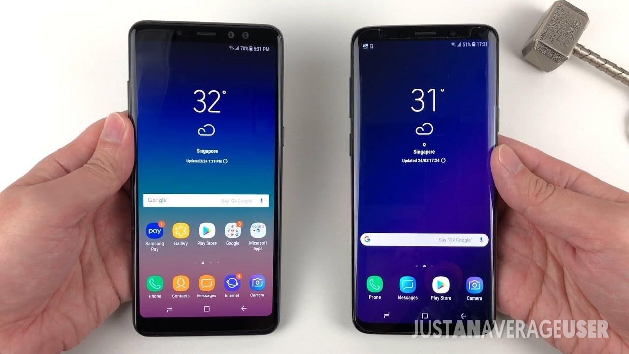 Samsung a8 samsung s9