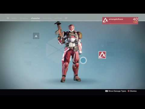 Destiny: Rise Of Iron - Mark Of The Executor Preview (New Monarchy Titan Mark)