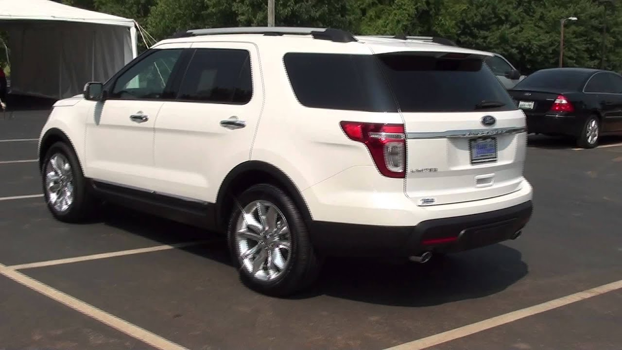 For Sale New 2011 Ford Explorer Limited Park Assist