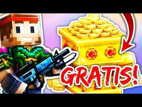 GRATIS! Unmengen An Gold Bekommen!   Pixel Gun 3D [Deutsch]