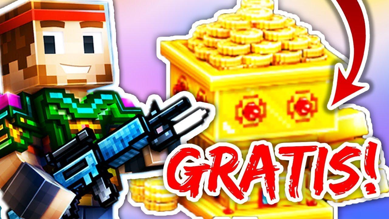 Gratis Unmengen An Gold Bekommen Pixel Gun 3d Deutsch Youtube