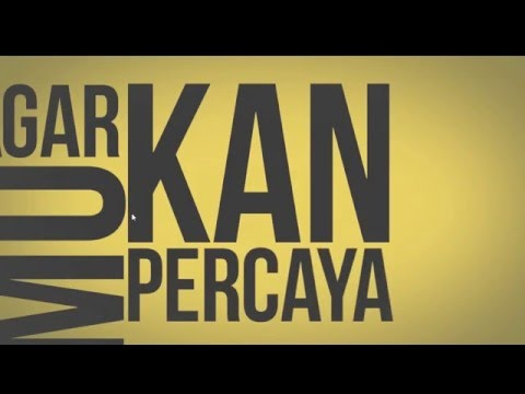 Cara membuat Kinetic Typography di After Effects