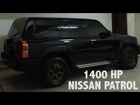 1400 Horsepower Nissan Patrol in Dubai!