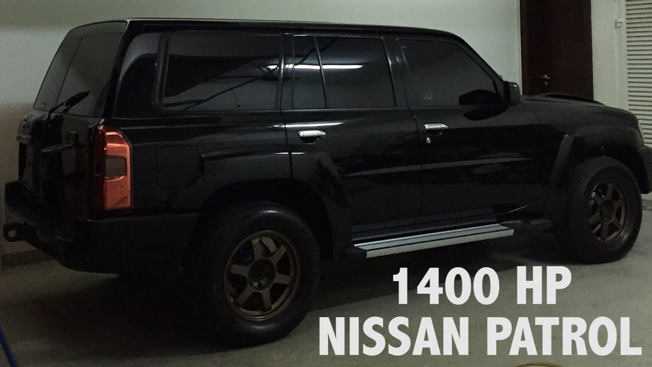 1400 Horsepower Nissan Patrol In Dubai YouTube