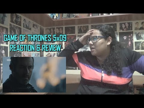 """Game of Thrones 5x09 REACTION & REVIEW """"The Dance of Dragons"""" S05E09 