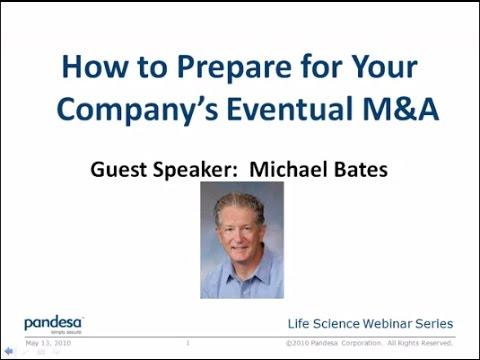 How to Prepare for Your Company's Eventual M&A