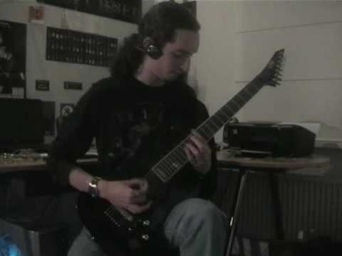 killswitch engage - my curse cover on 7-string drop a# (jeroen petri)