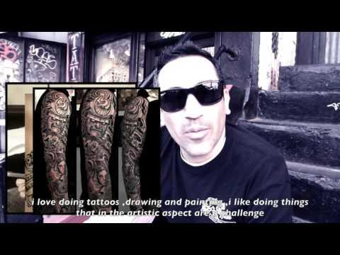 Erick Diaz Tattoo artist NYC