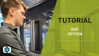 Tutorial - DXF Option