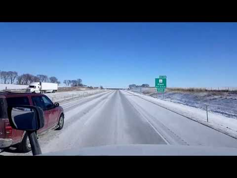BigRigTravels LIVE! Sterling to Belvidere, Illinois-Interstate 88 & 39 Jan. 4, 2018