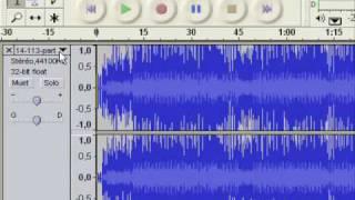 Comment enlever une voix de chanson avec Audacity