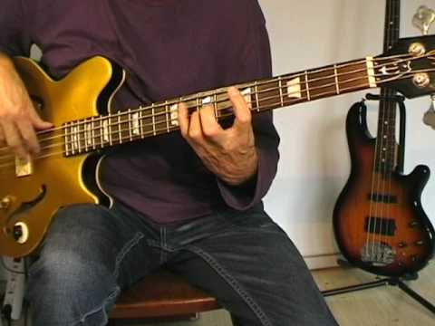 Lynn Anderson - Rose Garden - Bass Cover
