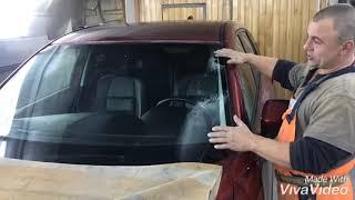 Замена лобового стекла на мазда 5