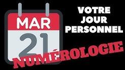 VOTRE JOUR PERSONNEL ET COMMENT LE CALCULER !!! [#NUMÉROLOGIE]