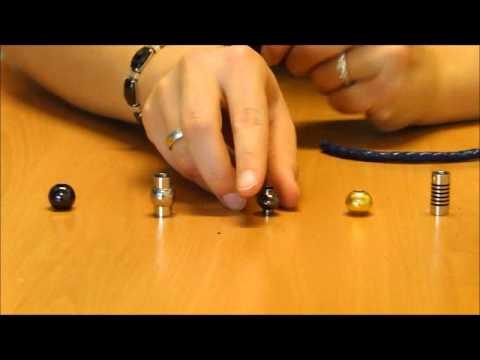 Schlichtes Armband Mit Magnetverschluss Youtube