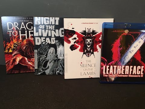 2/13/18 Horror Blu-ray Releases Unboxing