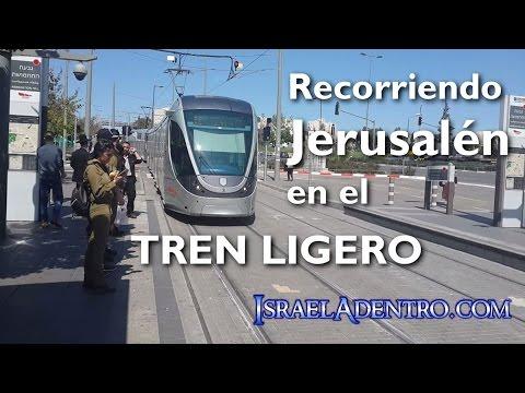 Recorriendo Jerusalén en el tren ligero
