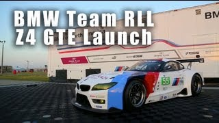 video thumbnail of BMW Z4 GTE Release in ALMS 2013