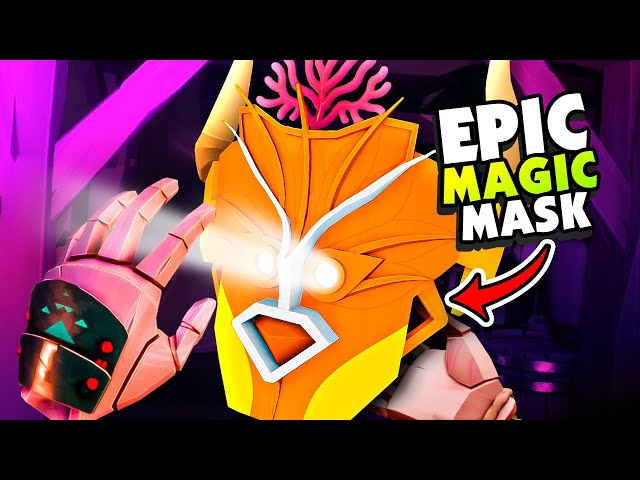 Crafting POWERFUL MAGIC Masks To Defeat The KING - Maskmaker VR