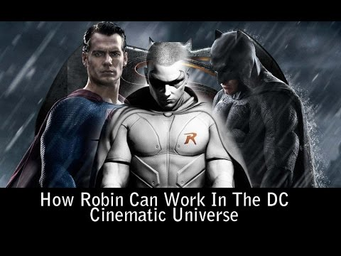 How Robin Can Work In The DC Cinematic Universe - AMC Editorial