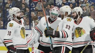 NHL 16 - Stanley Cup 2015: Chicago Blackhawks v Tampa Bay Lightning [1080p 60FPS HD]