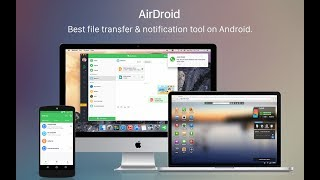 Airdroid remotely manage your android mobile (Bangla) [বাংলা]
