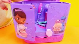 McStuffins ve Nicole eşyaları arıyorlar. SİHİRLİ kutu!