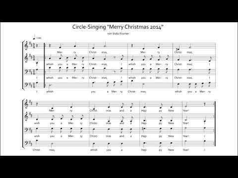 "Circle Christmas-Song ""Merry Christmas"