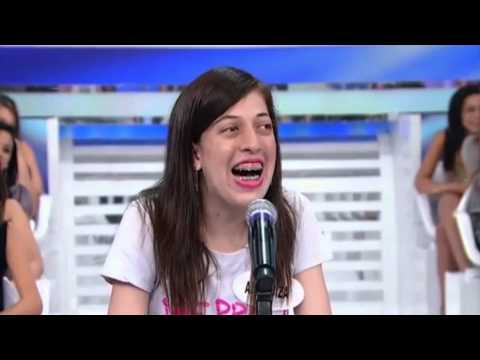 A Risada de Ana Luiza no Silvio Santos - SBT