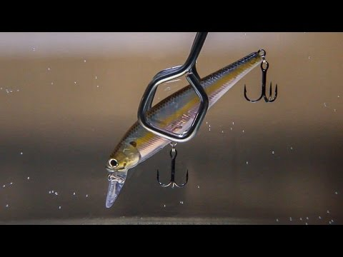 BASS FISHING TIP (MODIFY YOUR JERKBAIT TO SUSPEND PERFECTLY!)