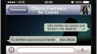 Olivia Ferreira - Se Creres   Lyric Video