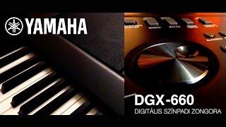 yamaha dgx 660 digitlis sznpadi zongora