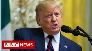 Syria: Criticism of President Trump intensifies - BBC News