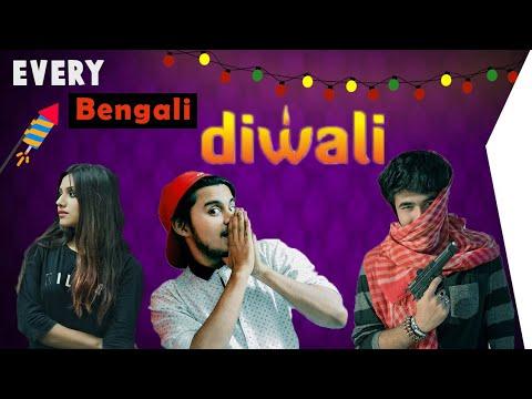 EVERY BENGALI DIWALI || Latest Diwali Funny Video || Crazy Bangali ARG ||