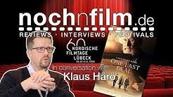In conversation with Klaus Härö | One Last Deal | Interview | Nordic Film Days Lübeck