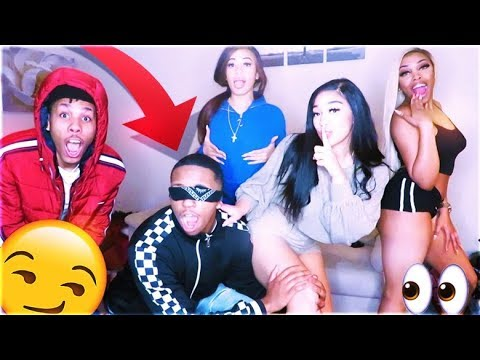 LITTEST TOUCH MY BODY CHALLENGE FT. YOUTUBE BADDIES 😍 (I FELT EVERYTHING😉)